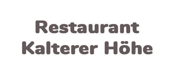 Restaurant Kalterer Höhe
